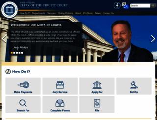 duvalclerk.com screenshot