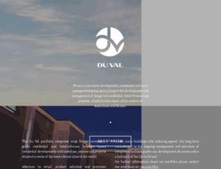 duvalglobal.com screenshot