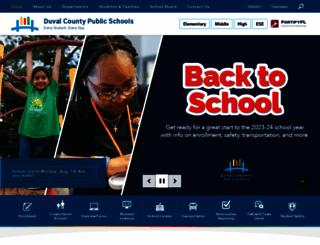 duvalschools.org screenshot