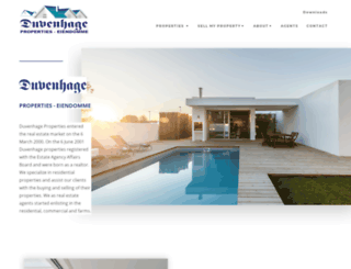 duvenhageproperties.co.za screenshot