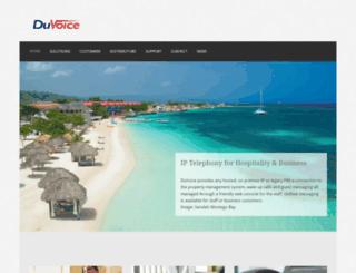 duvoice.com screenshot