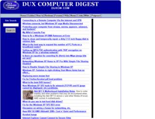 duxcw.com screenshot