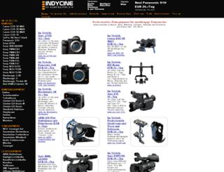 dv-kameraverleih.de screenshot
