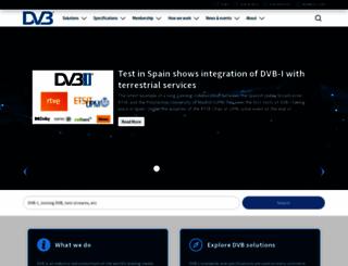 dvb.com screenshot