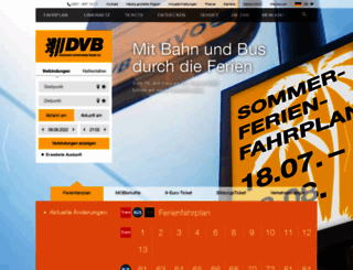 dvb.de screenshot