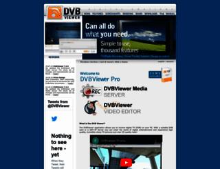 dvbviewer.com screenshot