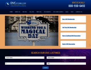 dvc-resales.com screenshot