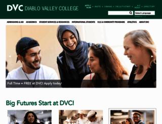 dvc.edu screenshot