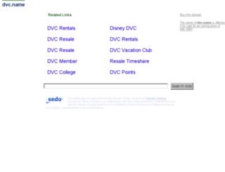 dvc.name screenshot