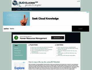 dvd-guides.com screenshot