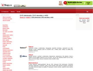 dvd-prehravace-rekordery.shopy.cz screenshot