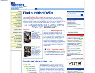 dvd-subtitles.com screenshot