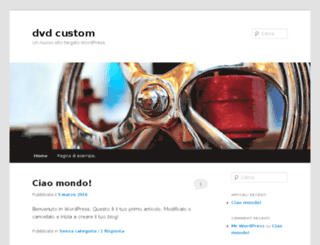 dvdcustom.com screenshot