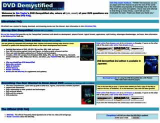 dvddemystified.com screenshot