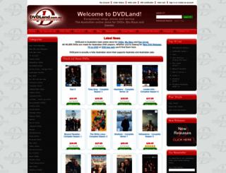 dvdland.com.au screenshot