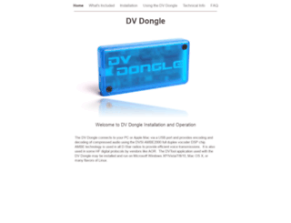 dvdongle.com screenshot