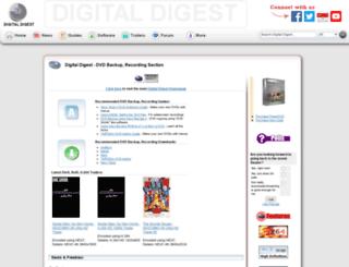 dvdr-digest.com screenshot