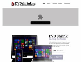 dvdshrink.org screenshot
