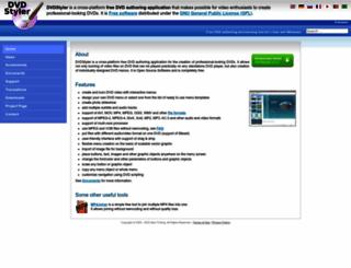 dvdstyler.org screenshot