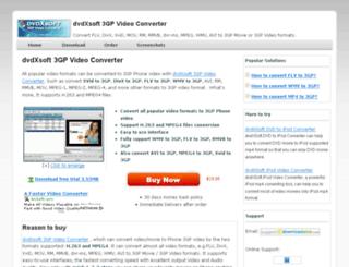 dvdxsoft-3gp-video-converter.com-http.com screenshot