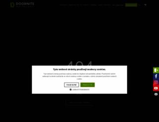 dvere-aqua.cz screenshot