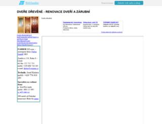 dvere-drevene-port.wbs.cz screenshot