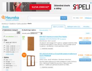 dvere.heureka.cz screenshot