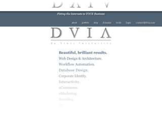 dvia.com screenshot