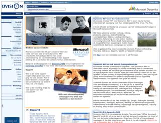 dvision.nl screenshot