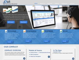 dvisoftware.com screenshot