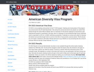 dvlotteryhelp.com screenshot