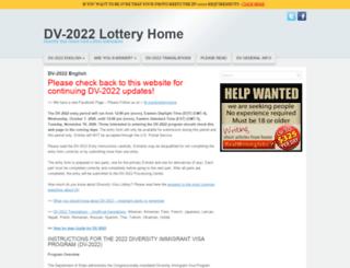 dvlotteryhome.com screenshot