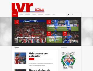 dvlp.lavidaenrojiblanco.com screenshot