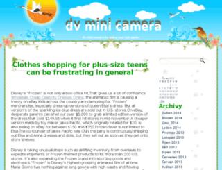 dvminicamera.eblog.cz screenshot