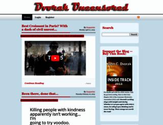 dvorak.org screenshot