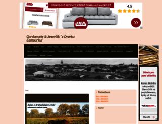 dvorekcamourek.estranky.cz screenshot