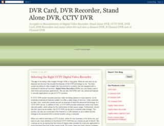 dvrcard-avcapdvr.blogspot.com screenshot