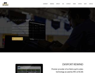 dvsport.com screenshot