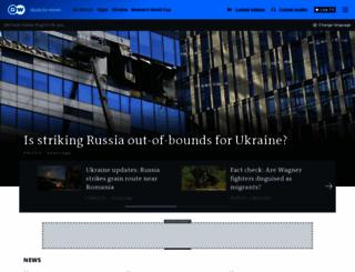 dw-world.de screenshot