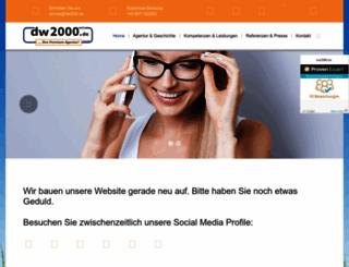 dw2000.de screenshot