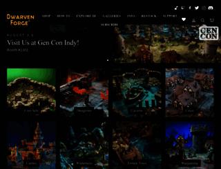 dwarvenforge.com screenshot