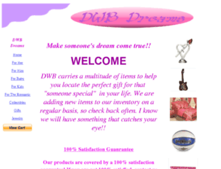 dwbdreams.com screenshot