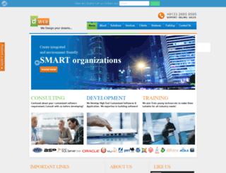 dweb.co.in screenshot
