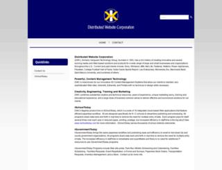 dwebsite.com screenshot