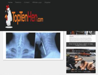 dweeks.toptenhen.com screenshot