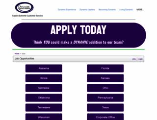 dwfs.applicantpro.com screenshot