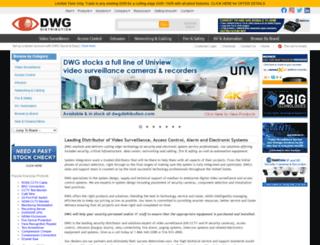 dwgsecurity.com screenshot