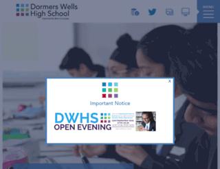 dwhs.co.uk screenshot