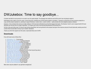 Dwjukebox Windows 10