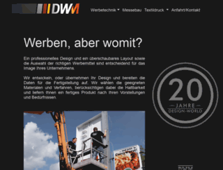 dwm-wraps.de screenshot